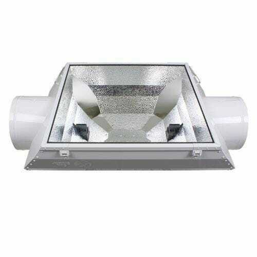 AC/DE Double Ended Air-Cooled Reflector 8 in (Freight/In-Store Pickup Only) - 1