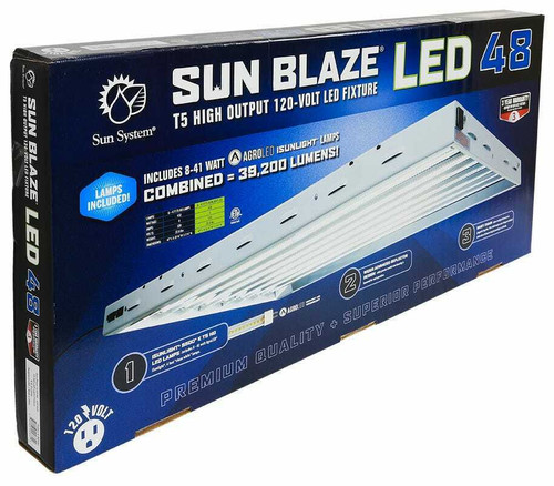 Sun Blaze T5 LED 48 - 4 ft 8 Lamp 120 Volt - 1