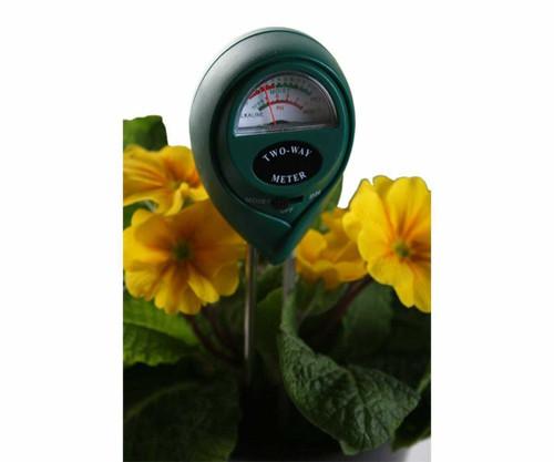 2-Way pH & Moisture Meter - 1