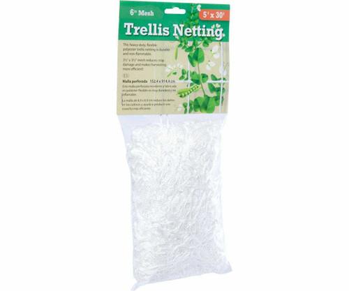 "Trellis Netting 3.5"" Mesh, 5'x15' - 1"