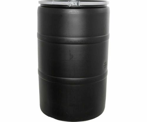 55 Gal Drum w/Solid Lid & Lock - 1