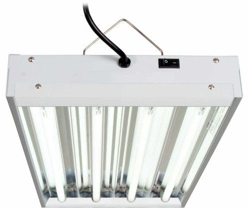 T5 2Ft 4 Tube Fixture w/Bulbs - 1