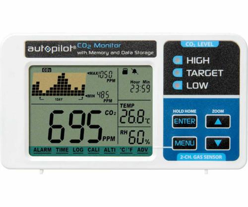 Desktop CO2 Monitor w Removable Data Card - 1