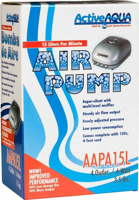 Air Pump 4 Outlets 6W 15L/min - 1
