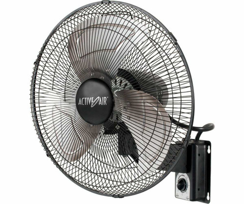 "16"" Metal Wall Mount Fan - 1"
