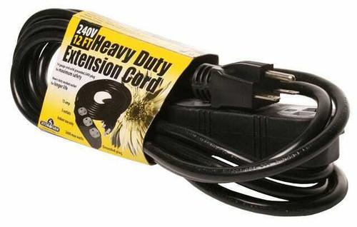Extension Cord, 240v 12ft - 1