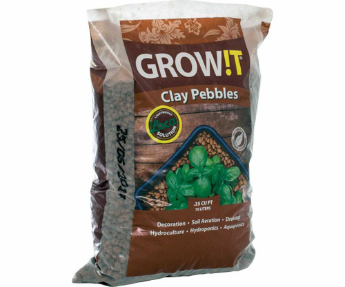 GROW!T Clay Pebbles, 10 L - 1