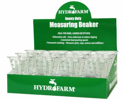 Hydrofarm Measuring Beaker, case of 12 - 1