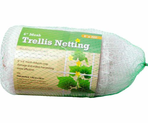 "Trellis Netting 6"" Mesh, 6' x 328' - 1"