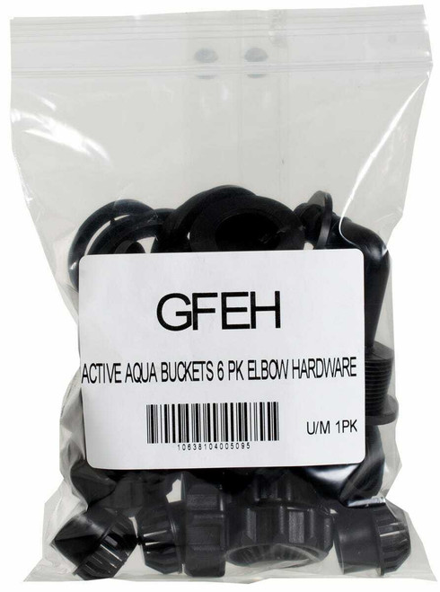 """1/2"""" Grow Flow Elbow Hardware Kit , pack of 6 - 1"""