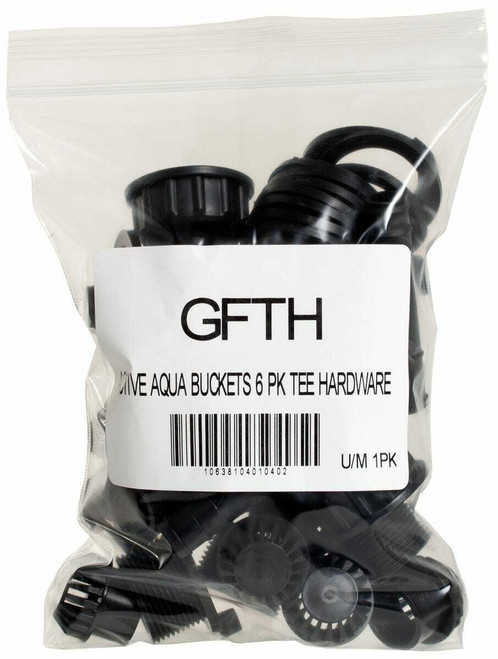 "1/2"" Grow Flow Tee Hardware Kit, pack of 6 - 1"