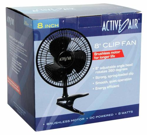 Active Air 8in Clip Fan, 7.5W - 1