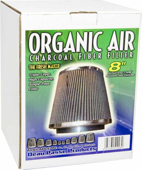 """Charcoal Fiber Filter 8"""" - 1"""