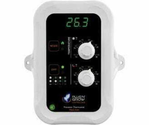 Day and Night temperature controller with display - 1