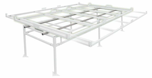 Fast Fit Rolling Bench Tray Stand 4 ft x 8 ft (2 Boxes) - 1