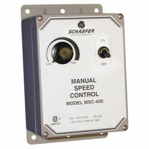 Schaefer Manual Fan Speed Controller - 1