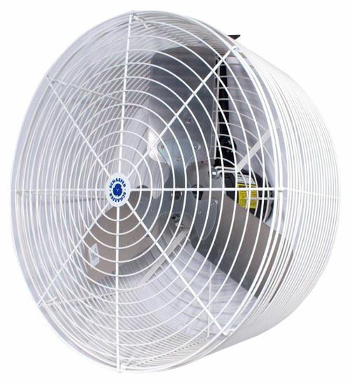 Schaefer Versa-Kool Circulation Fan 24 in w/ Tapered Guards, Cord & Mount - 7860 CFM - 1