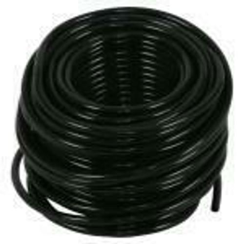 Hydro Flow Vinyl Tubing Black 3/16 in ID - 1/4 in OD 100 ft Roll (Sold Per Foot) - 1
