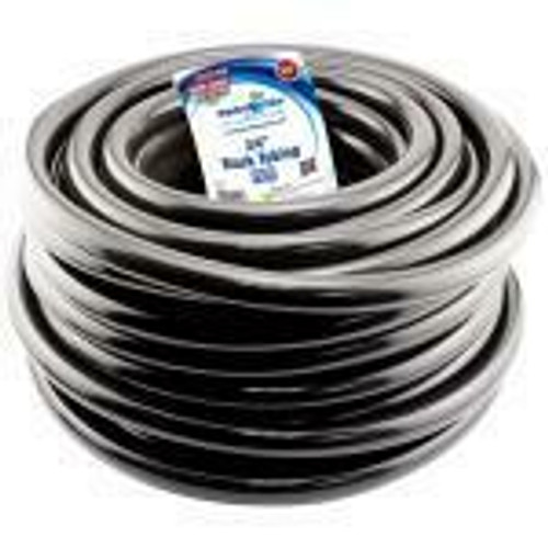 Hydro Flow Vinyl Tubing Black 3/4 in ID - 1 in OD 100 ft Roll (Sold Per Foot) (Add 100 for full roll) - 1