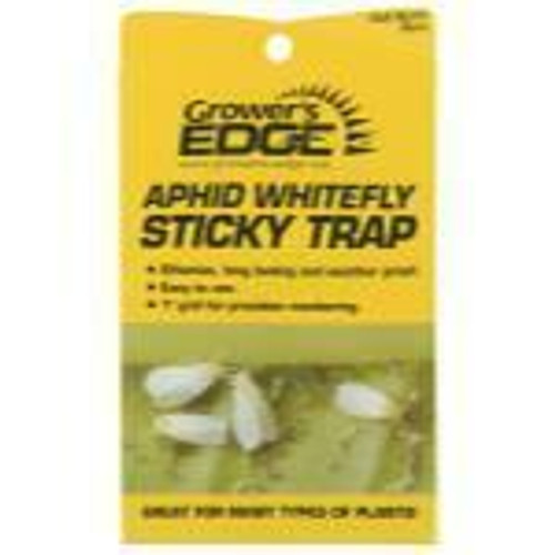 Grower's Edge Aphid Whitefly Sticky Trap 5/Pack - 1