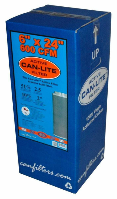Can-Lite Filter 6 in 600 CFM (Freight/In-Store Pickup Only) - 1