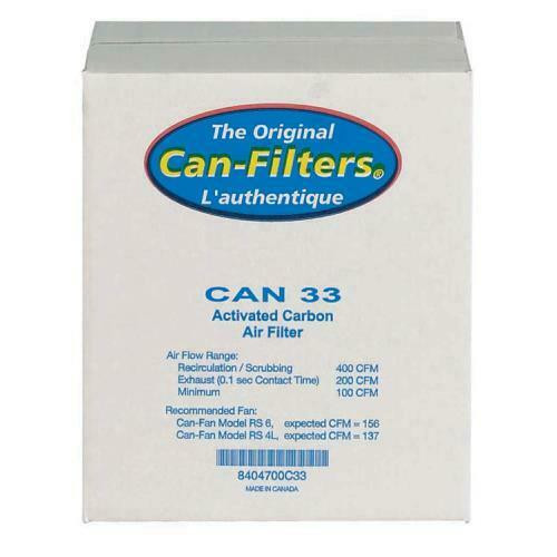 Can-Filter 33 w/ out Flange 200 CFM (Freight/In-Store Pickup Only) - 1