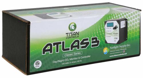 Titan Controls Atlas 3 -  Day/Night CO2 Monitor/Controller - 1