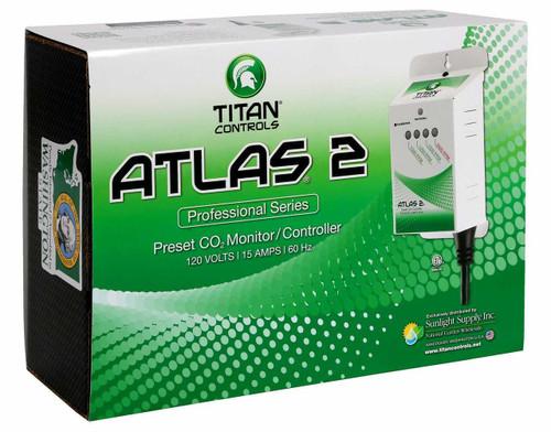 Titan Controls Atlas 2 - Preset CO2 Monitor/Controller - 1