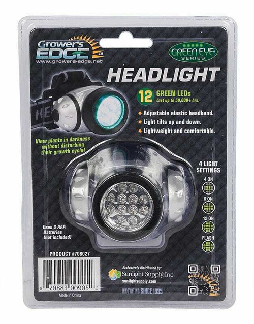 Grower's Edge Green Eye LED Headlight - 1