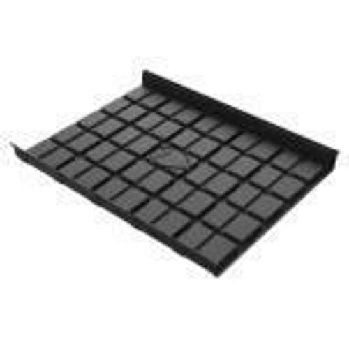 Botanicare 4' Black ABS Mid Tray - 1