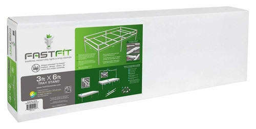 Fast Fit Tray Stand 3 ft x 6 ft - 1
