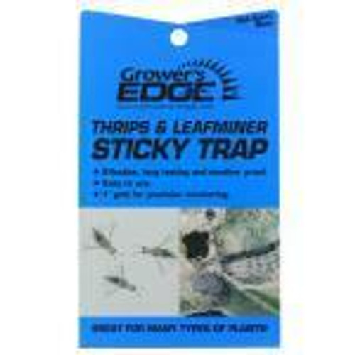 Grower's Edge Thrips & Leafminer Sticky Trap 5/Pack - 1