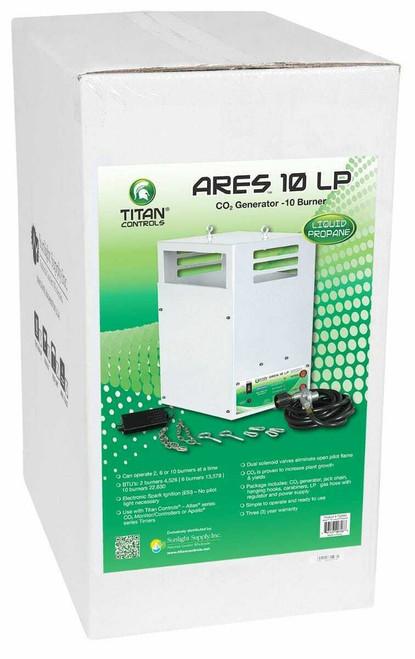 Titan Controls Ares 10 - Ten Burner LP CO2 Generator - 26.5 CUFT/HR - 1