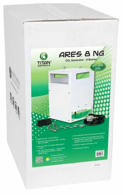 Titan Controls Ares 8 - Eight Burner NG CO2 Generator - 21.6 CUFT/HR - 1