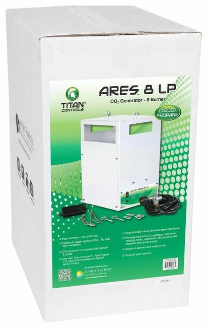 Titan Controls Ares 8 - Eight Burner LP CO2 Generator - 21.2 CUFT/HR - 1