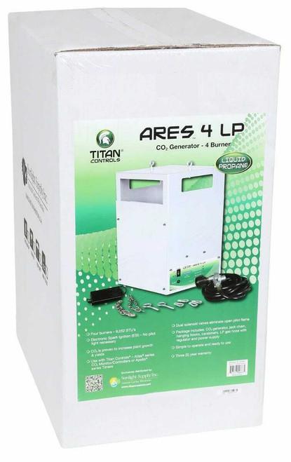 Titan Controls Ares 4 - Four Burner LP CO2 Generator - 10.6 CUFT/HR - 1