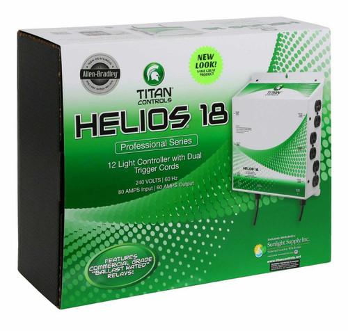 Titan Controls Helios 18 - 12 Light 240 Volt Controller w/ Dual Trigger Cords - 1