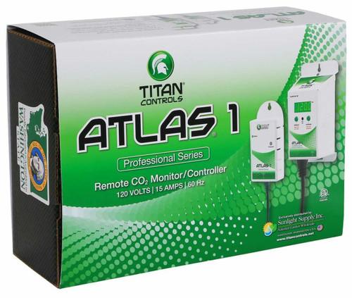 Titan Controls Atlas 1 CO2 Monitor / Controller w/ Remote Sensor - 1