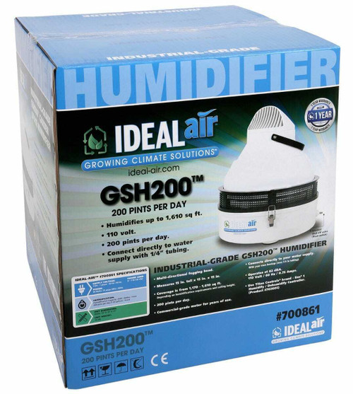 Ideal-Air Industrial Grade Humidifier - 200 Pints - 1