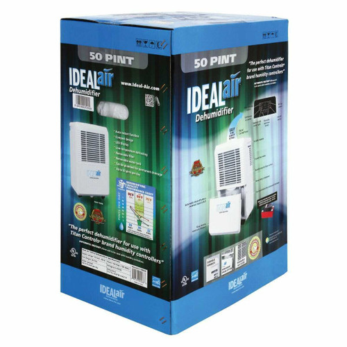 Ideal-Air Dehumidifier 30 Pint - Up to 50 Pints Per Day - 1