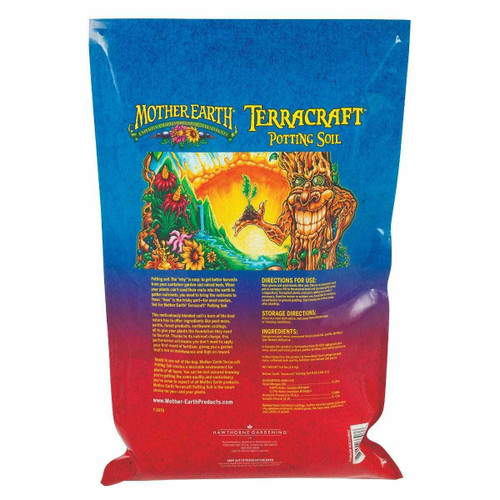 Mother Earth Terracraft Potting Soil 12QT - 1