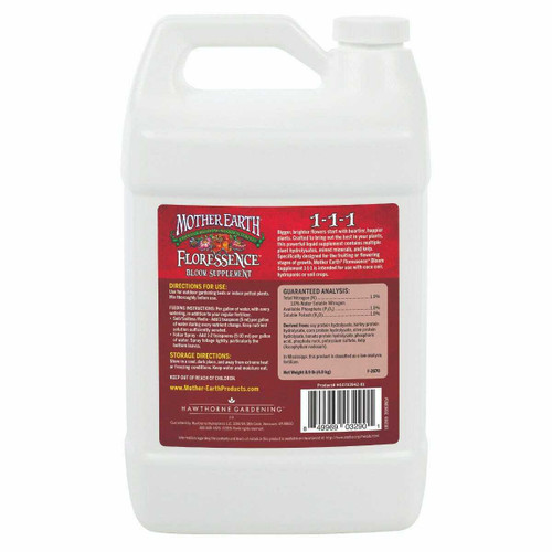 Mother Earth Floressence Bloom Supplement 1-1-1GAL - 1