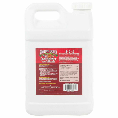 Mother Earth Floressence Bloom Supplement 1-1-1 2.5GAL - 1