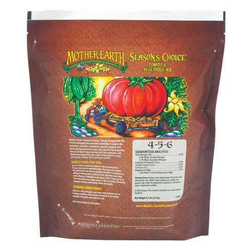 Mother Earth Seasons Choice Tomato & Vegetable Mix 4-5-6 4. 4LB - 1