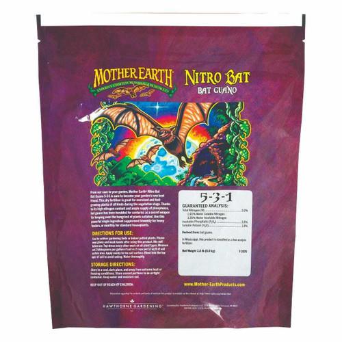 Mother Earth Nitro Bat Guano 5-3-1 2lb - 1