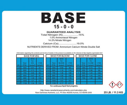 Rare Dankness Perfecta Base 3 Gallon Pail - 25 lbs