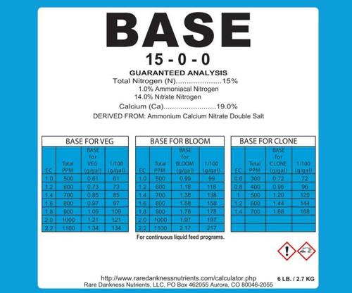 Rare Dankness Perfecta Base 1 Gallon Pail - 6 lbs