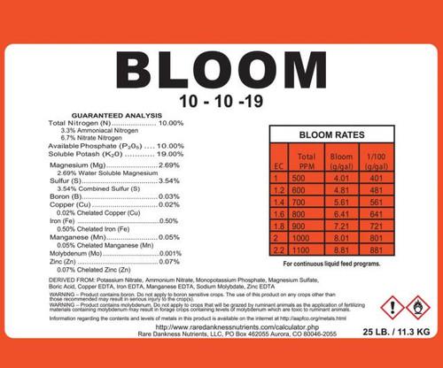Rare Dankness Perfecta Bloom 3 Gallon Pail - 25 lbs
