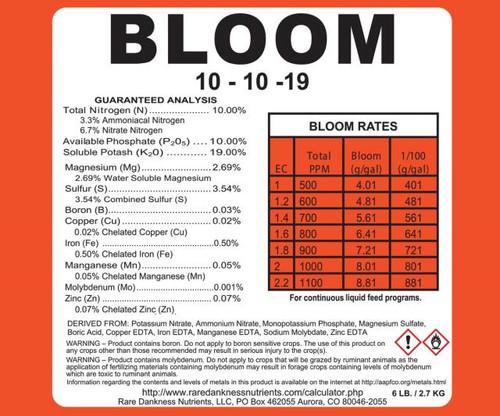 Rare Dankness Perfecta Bloom 1 Gallon Pail - 6 lbs