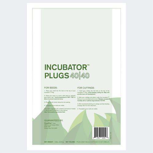 "50 PACK – INCUBATOR™ PLUGS 1.25"" 40|40 (FloraFlex)"